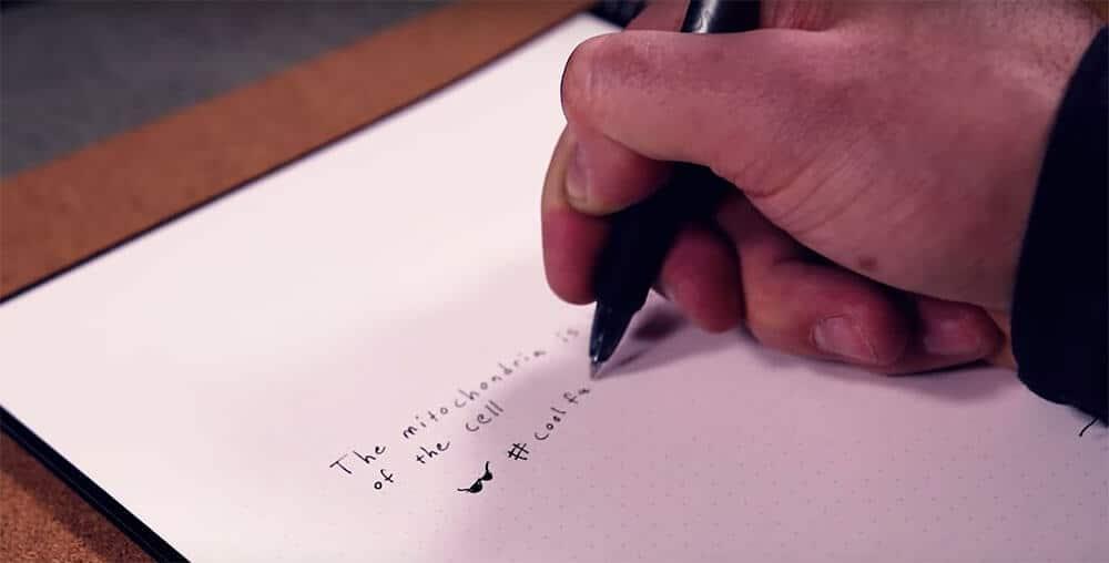 9 escribiendo en rocketbook