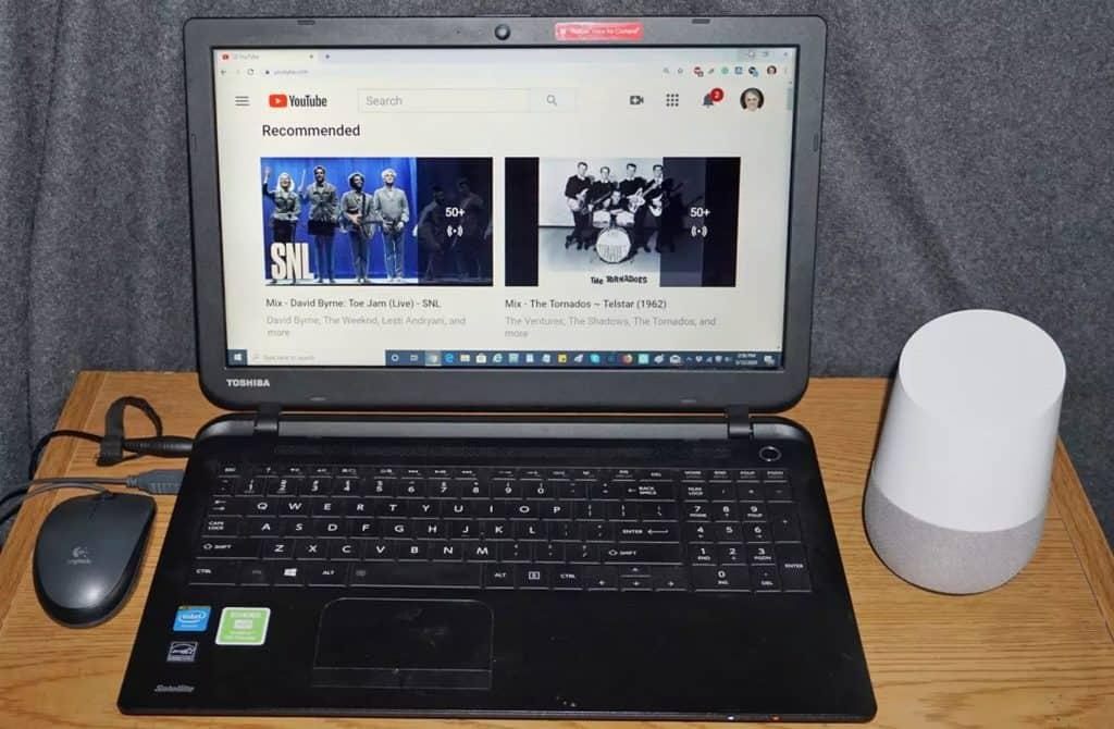 Ahora puedes ver la parte de vídeo de YouTube en tu PC