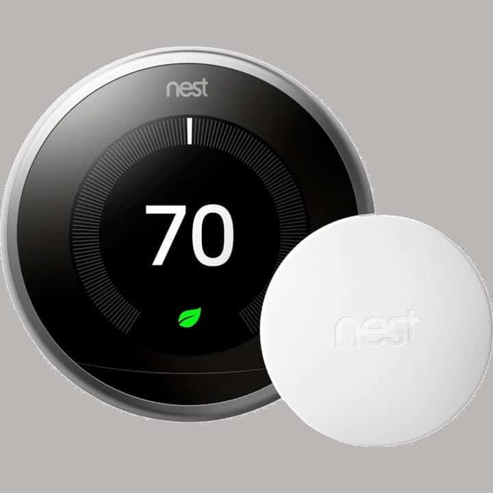 Nest Learning Thermostat con sensor de temperatura