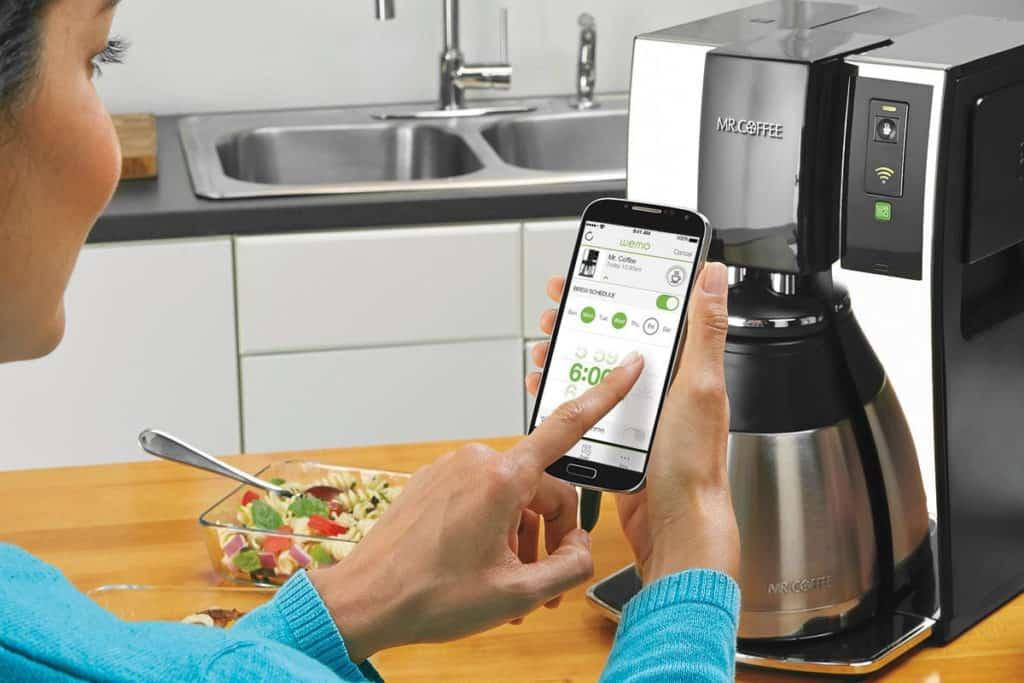 cafetera inteligente wifi
