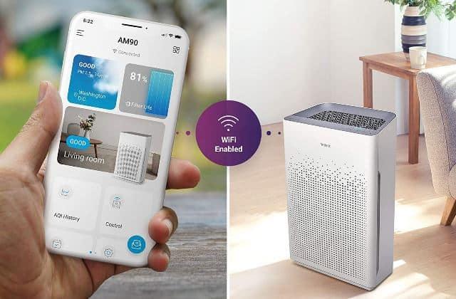 Los mejores purificadores de aire inteligentes con alexa