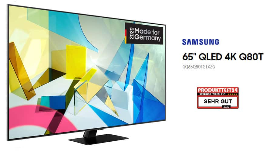 Samsung GQ65Q80T en la prueba